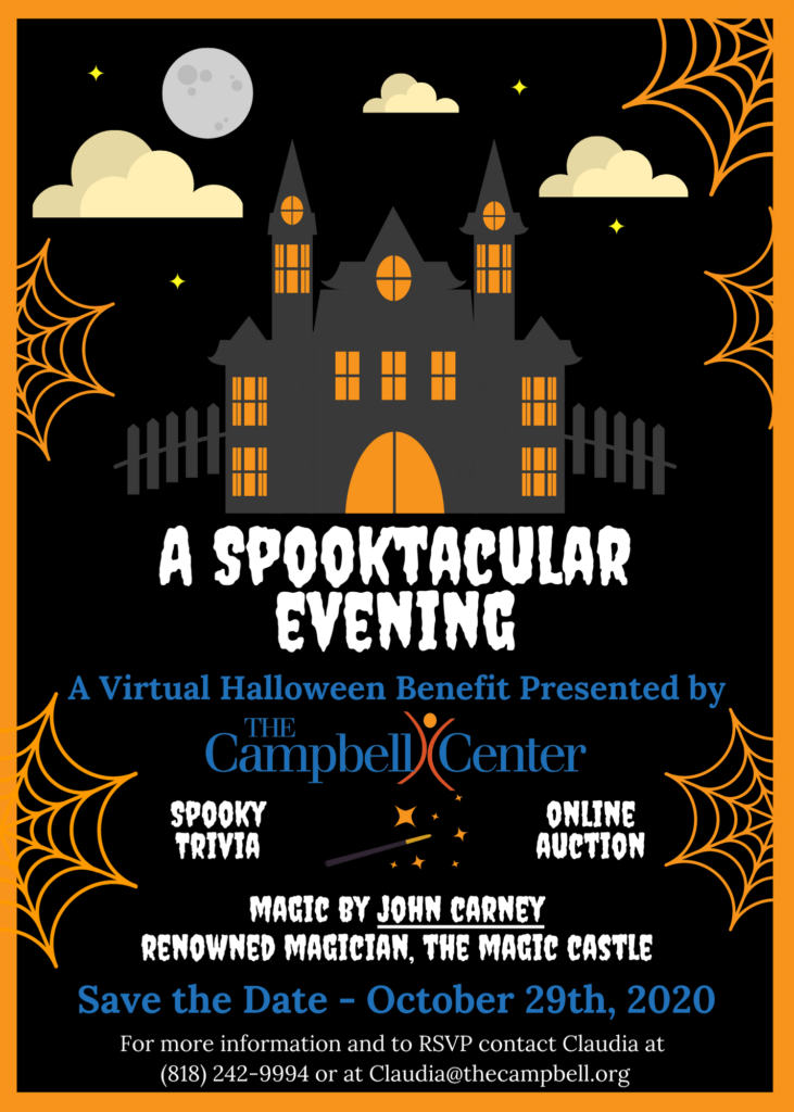 Flyer for a Halloween Event